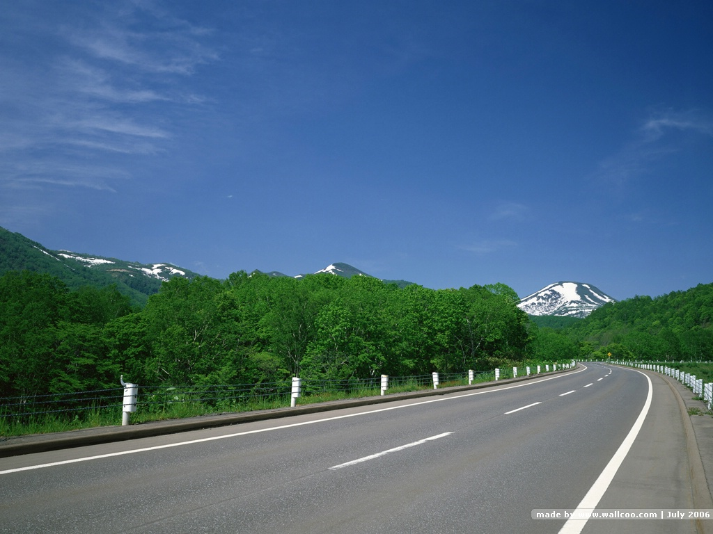 Images Of Nature Wallpaper With Quotes 桌布天堂 道路美景(三)2